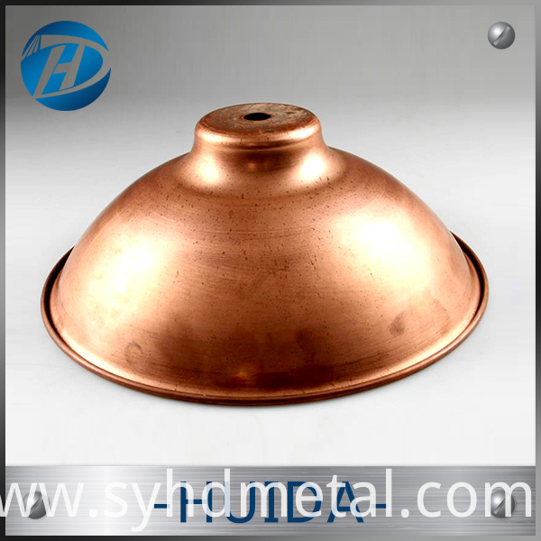 pure round copper hemisphere
