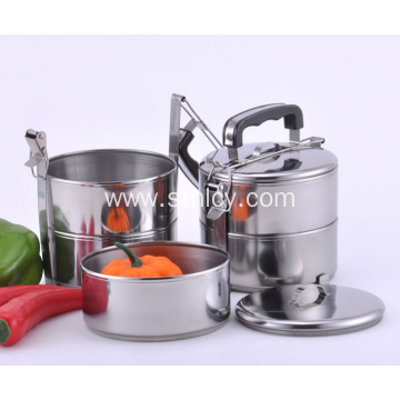 Three Layers Stainless Steel Food Container