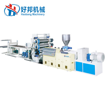 High quality PVC free foam sheet extrusion line