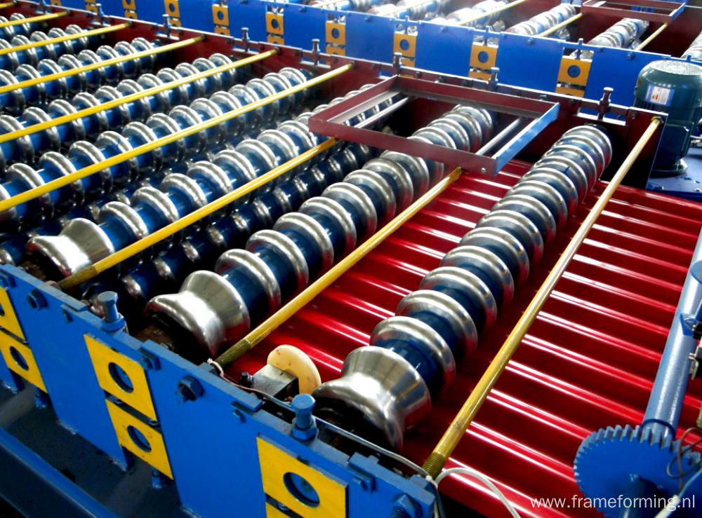 Roofing Steel Fence Roll Forming Machine