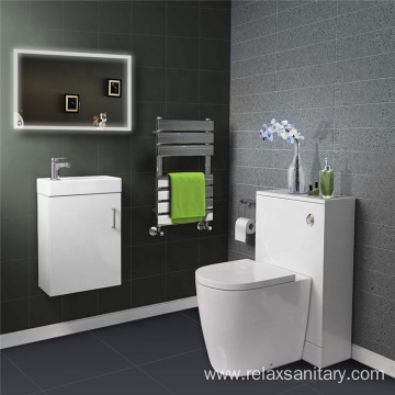 Modern white facial cleansing hotel bathroom vanity