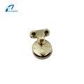 Light Gold Hardware Handbag Accessories Lock