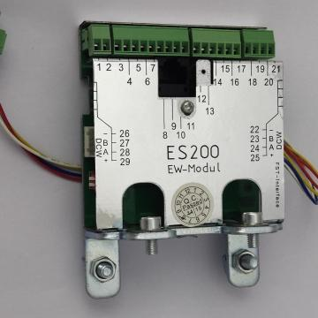 Automatic sliding glass door extension module FM