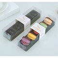 Cookies Blsiter Pack Macaron Clear Plastic Box