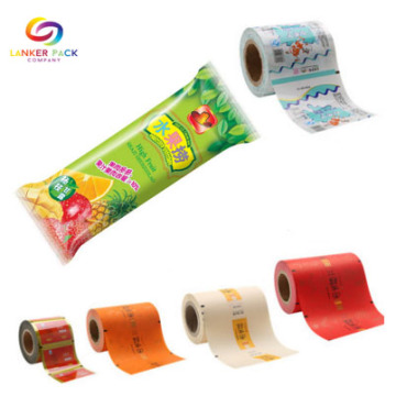 Customized Plastic packaging Roll Film For Ice Cream
