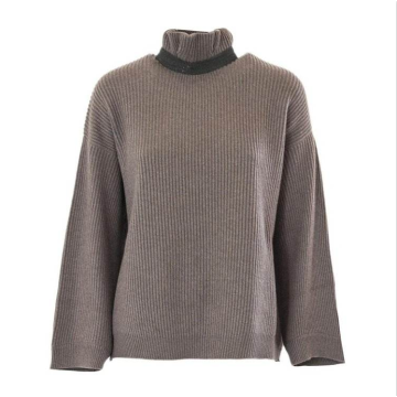 Sweaters Pullover Turtleneck Knitted Wholesale