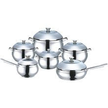 Stainless Steel 12 PCS Kitchen Tool Cookware