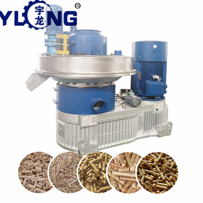 YULONG xgj560 wood pellet press machine