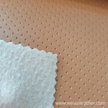 0.8mm Regular Pit Grain PVC Leather