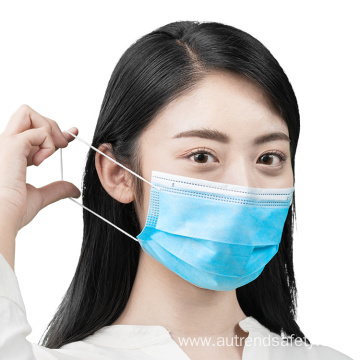 Medical face mask 3-ply disposable mask direct sale with good price