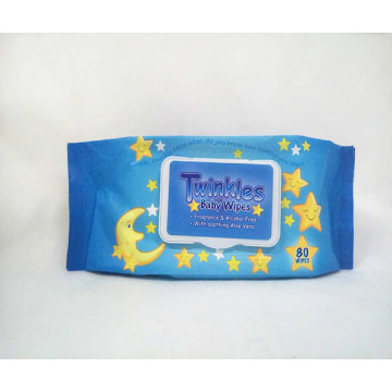 Natural Care Fragrance Free Flip-top Lid Wet Wipes