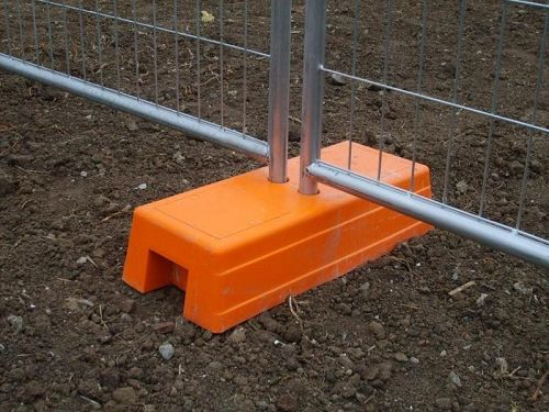 Removable Galvanized Steel Metal Safety Barrier