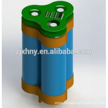 10ah 9.6v li-ion rechargeable battery for lamp