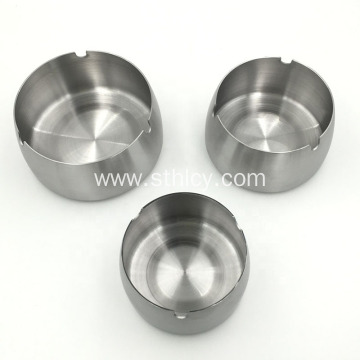 Metal Round Table Ashtray