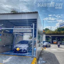 In bay automatic touchless car wash cost