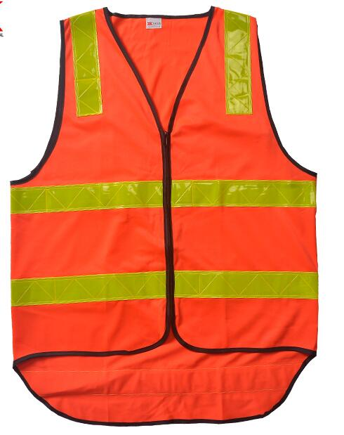 TC reflective warning vest