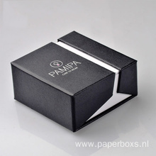 New Style Black Cardboard Jewelry Gift Paper Box