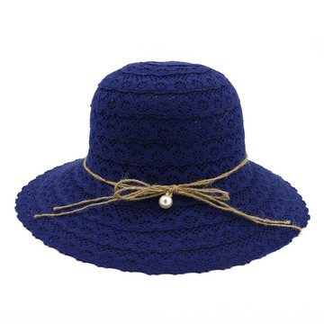 Polyester winter cloth hat lady bucket hat
