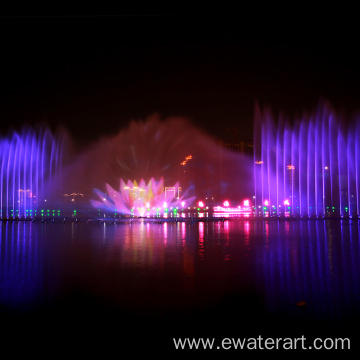 Large Outdoor Musical Fountain