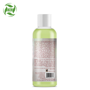 pure natural grapeseed oil pure carrier oil