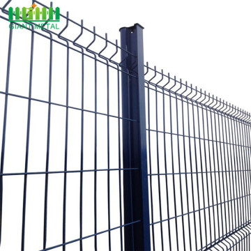 Galvanized PE coating metal wire mesh fence