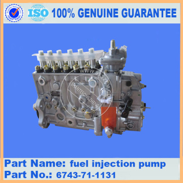 Komatsu D155A-3 fuel injection pump 6211-72-1121