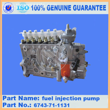 pc300-7 PC360-7 fuel injection pump 6743-71-1131