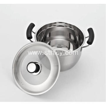 Capsuled Bottom Stainless Steel Cooking Stock Pots