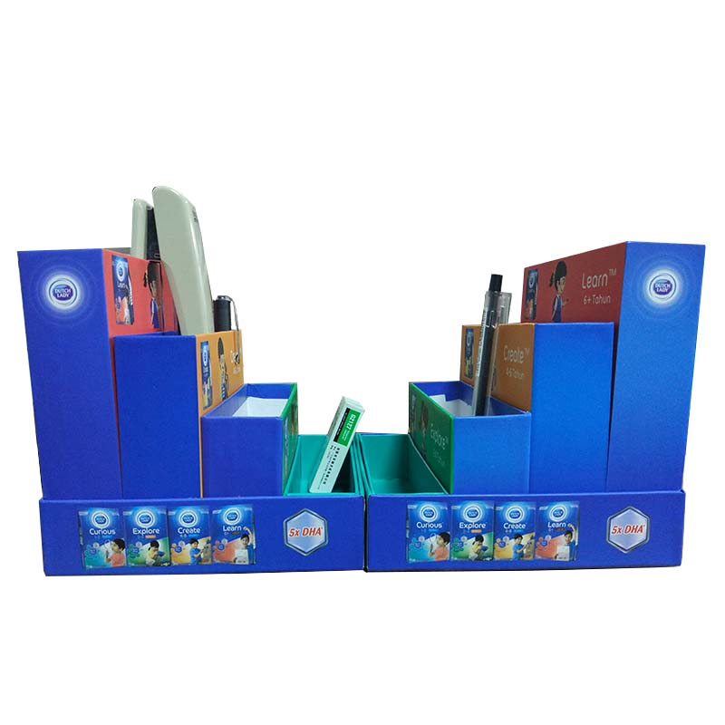 Color Student Stationery Storage Gift Box Packaging
