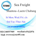 Shantou Port Sea Freight Shipping To Laem Chabang