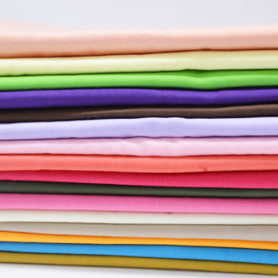100% Cotton Plain Dyed Fabric