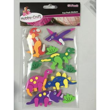 foam activity kit - dinosaur shape