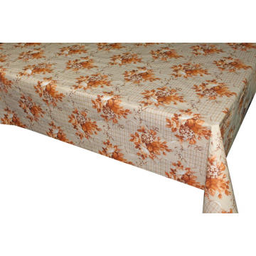 PVC/PEVA/EVA Printed Tablecloth with Tnt Backing