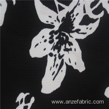 Digital Printing Black 100% Cotton Lycra Jersey Fabric