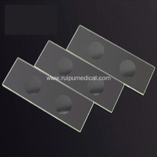 Microscope Slides Double Concave, Ground Edges