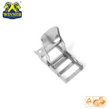 2 Inch White Zinc Steel Overcenter Buckle For Lashing Belt