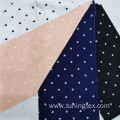 Four Way Spandex Polyester With Heart Print