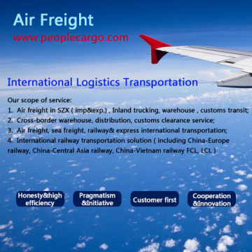 Cheap air freight/cargo shipping from Shanghai to Finland /Denmark/Austria
