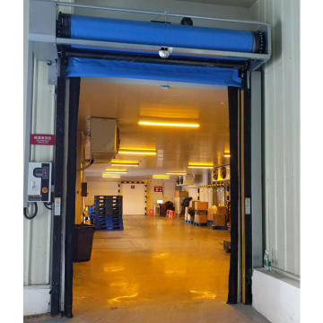 High performance quick action cold roller shutter