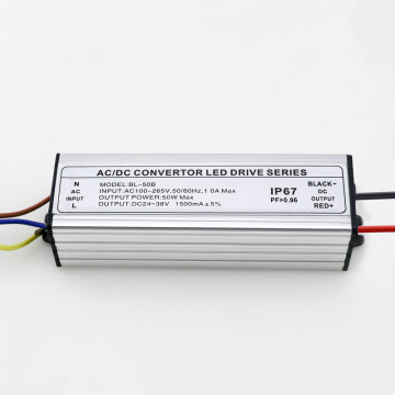 DC Convertor LED Driver 50W5A Waterproof Power Supply
