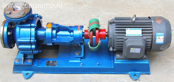 High temperature thermal oil circulation pump