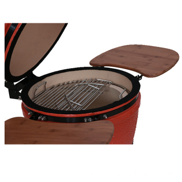 Portable Cast Iron Charcoal Barbecue Kamado Grill
