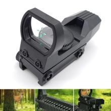 New Hot 20mm Rail Riflescope Hunting Optics Holographic Red Dot Sight Reflex 4 Reticle Tactical Scope Hunting Gun Accessories