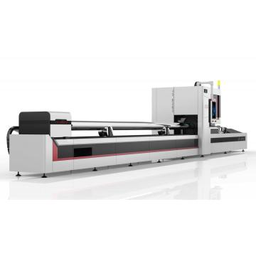 Pipe Fiber Laser Laser Cutting Mchine Cutting For Metal Tube Stell Tube Cutter