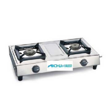 2 Burners Cooktop with Aluminium Alloy Burners