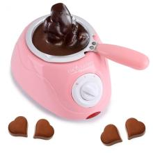 Electric Chocolate Fountain Candy Melting Pot Melter Chocolate Machine Kitchen Tool With DIY Mould Set DIY Kitchen Tool EU Plug