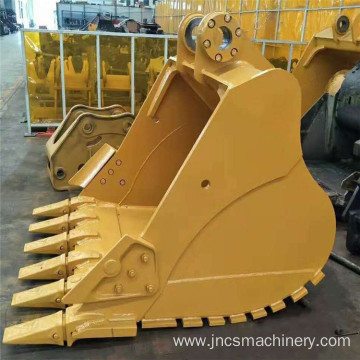 Wholesale construction excavator parts SD type 2.41m3 heavy duty rock bucket for 49ton 50ton excavator on sale