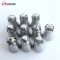 10PCS Russian Sphere Ball Piping Tips Stainless Steel Icing Nozzle Pastry Cupcake Baking Shape Cream T