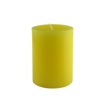 Durable in use beautiful christmas pillar candles
