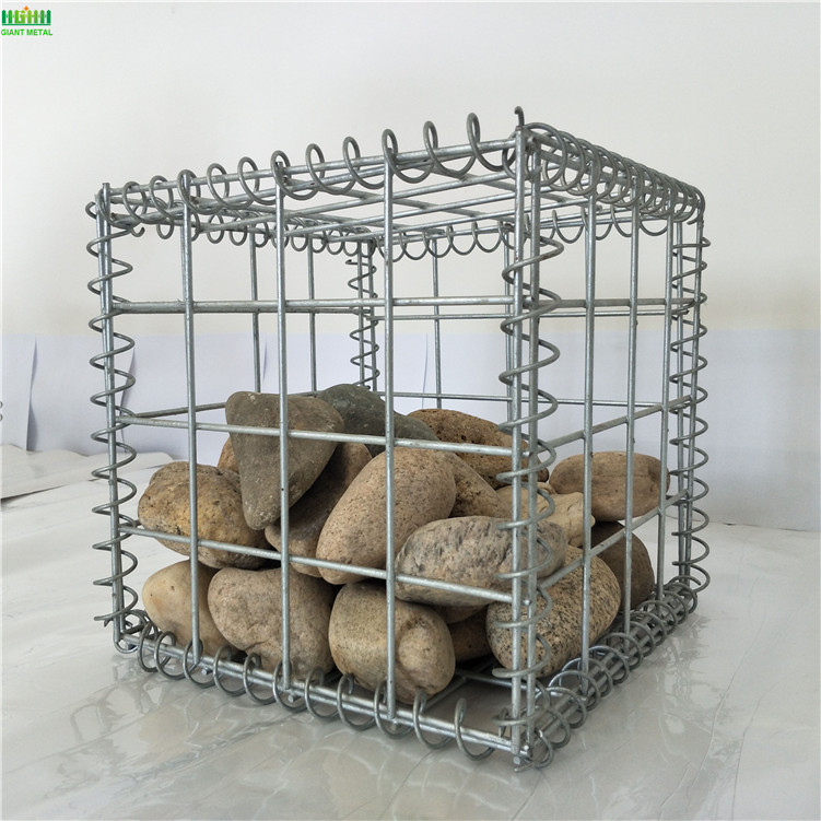 Galvanized welded White Gabion Basket